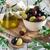 смешанный · оливками · маринованный · зеленый · черный · Purple - Сток-фото © Karaidel