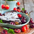 cereza · chocolate · maduro · hierro · pan · frescos - foto stock © Karaidel