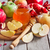 honing · granaatappel · appels · oude · houten · voedsel - stockfoto © karaidel