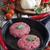 nyers · húsgombócok · vasaló · serpenyő · chilipaprika · koktélparadicsom - stock fotó © Karaidel
