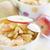 karamel · appels · kom · houten · tafel · stijl · rustiek - stockfoto © karaidel
