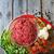 hús · zöldségek · chilipaprika · koktélparadicsom · fokhagyma · hagyományos - stock fotó © Karaidel