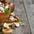 fresche · verdura · legno · desk - foto d'archivio © karaidel