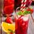 jarra · dos · gafas · cóctel · colección - foto stock © karaidel