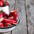Strawberry popsicles background stock photo © Karaidel