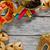 máscara · bandeja · placa · postre · vacaciones - foto stock © karaidel