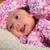 közelkép · édes · kicsi · baba · fiú · pléd - stock fotó © karammiri