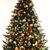 amarelo · bugiganga · árvore · de · natal · decorativo · árvore - foto stock © karammiri