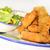 typisch · voedsel · kaas · plaat · vlees · banaan - stockfoto © karammiri