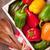 renkli · çan · yalıtılmış · beyaz · gıda - stok fotoğraf © karandaev
