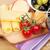 pan · salud · planta · sándwich - foto stock © karandaev