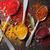 ingredienti · buio · pietra · tavola · top · view - foto d'archivio © karandaev