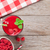 framboos · smoothie · bessen · houten · tafel · top - stockfoto © karandaev