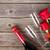 płatki · czerwona · róża · szkła · wina · kwiat · ślub - zdjęcia stock © karandaev