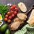 vegetariano · sándwich · carne · pollo · Turquía · tofu - foto stock © karandaev