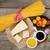 parmesan cheese pasta tomatoes vinegar olive oil herbs and stock photo © karandaev