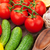 fresh ripe vegetables closeup stock photo © karandaev