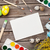 colorful easter eggs and greeting card stock photo © karandaev