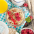 ontbijt · müsli · bessen · sinaasappelsap · houten · tafel · hout - stockfoto © karandaev