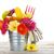 fiori · parecchi · colorato · rugiada · gocce · isolato - foto d'archivio © karandaev