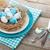 пасхальных · яиц · гнезда · пластина · столовое · серебро · изолированный · белый - Сток-фото © karandaev