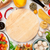 comida · italiana · cozinhar · ingredientes · macarrão · legumes · temperos - foto stock © karandaev