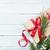 Noel · hediye · kutusu · ahşap · üst · görmek · bo - stok fotoğraf © karandaev