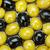 delicioso · verde · azeitonas · pretas · tigela · comida · salada - foto stock © karandaev