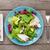 frescos · saludable · ensalada · tomates · mozzarella · cinta · métrica - foto stock © karandaev