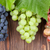 красочный · виноград · деревянный · стол · вино · фон - Сток-фото © karandaev