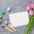カラフル · イースターエッグ · チューリップ · グリーティングカード · 石 · 表 - ストックフォト © karandaev