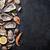 taze · deniz · ürünleri · taş · tablo · istiridye · karides - stok fotoğraf © karandaev