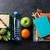 pranzo · finestra · materiale · scolastico · verdura · sandwich · ragazzi - foto d'archivio © karandaev