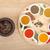 baharatlar · ahşap · masa · grup · kırmızı · biber - stok fotoğraf © karandaev