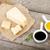 heerlijk · parmezaanse · kaas · stukken · speciaal · mes · voedsel - stockfoto © karandaev