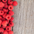 saboroso · maduro · framboesas · cerâmico · colher · mármore - foto stock © karandaev