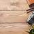 ヴィンテージ · 映画 · 写真 · カメラ · 木製 · デスク - ストックフォト © karandaev
