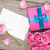 gyönyörű · romantikus · valentin · nap · üdvözlet · ajándékkártya · rózsaszín - stock fotó © karandaev