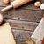 tavolo · da · cucina · ricettario · ingredienti · top · view - foto d'archivio © karandaev