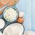 молоко · сыра · яйцо · масло · деревянный · стол - Сток-фото © karandaev
