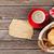 croissants · beker · koffie · boven · twee - stockfoto © karandaev