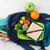 ランチ · ボックス · 野菜 · サンドイッチ · 木製のテーブル · 子供 - ストックフォト © karandaev