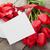 свежие · тюльпаны · шкатулке · деревянный · стол · копия · пространства · весны - Сток-фото © karandaev