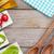 taze · sağlıklı · salata · domates · mozzarella · ahşap · masa - stok fotoğraf © karandaev