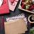 notepad · Noel · mektup · hediye · kutusu · kar - stok fotoğraf © karandaev