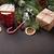 christmas fir tree hot chocolate and marshmallow stock photo © karandaev