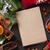 christmas · wijn · ingrediënten · top · notepad - stockfoto © karandaev