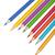 kleurrijk · potloden · geïsoleerd · witte · hout - stockfoto © karandaev