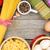 macarrão · tomates · ovos · mesa · de · madeira · madeira · fundo - foto stock © karandaev