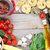 fresh ingredients for cooking pasta tomato and spices stock photo © karandaev